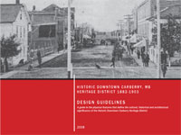 Link to download Historic Downtown Carberry Design Guidelines