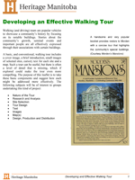 Link to download Developing an Effective Walking Tour